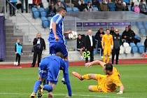 Třetiligová Jiskra Domažlice vyřadila prvoligovou Duklu Praha z MOL Cupu.