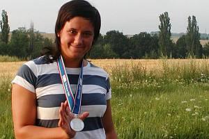Lenka Ledvinová s debrecínskou medailí