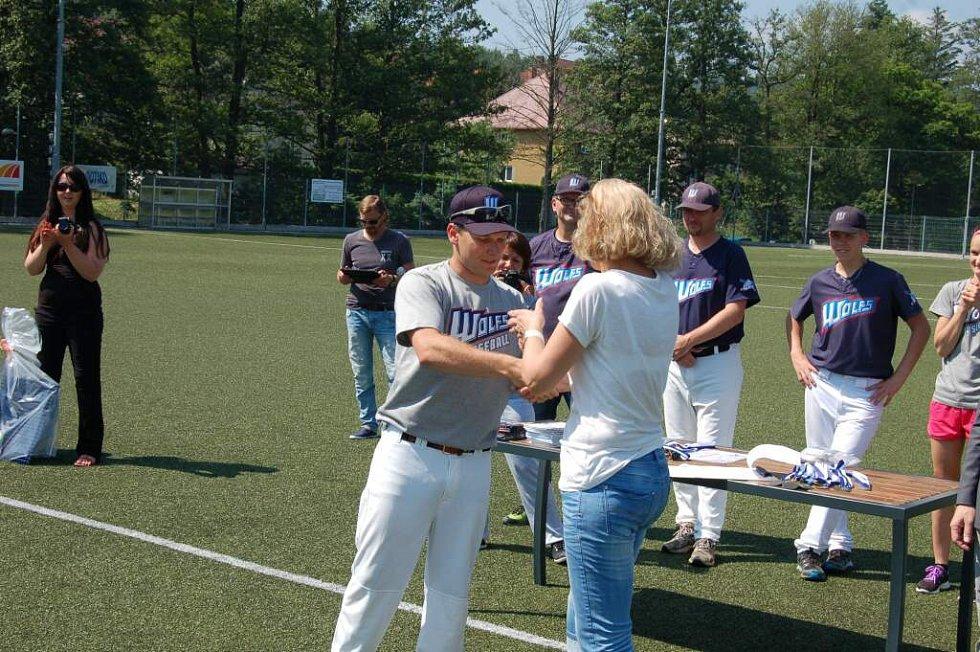 Z baseballového turnaje domažlických školek.