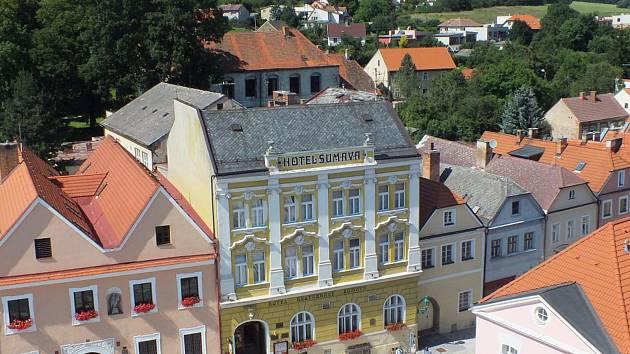 Hotel Šumava.