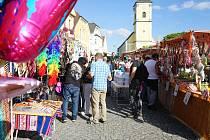 V Bělé nad Radbuzou se konala tradiční Bělská pouť.