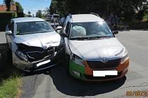 Při nehodě byla zraněna jedna řidička a vznikla škoda celkem za 360 tisíc korun.