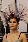 Z kadeřnicko-kosmetické soutěže Beauty Cup 2019