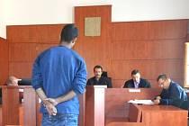 Filip Miko před soudem.