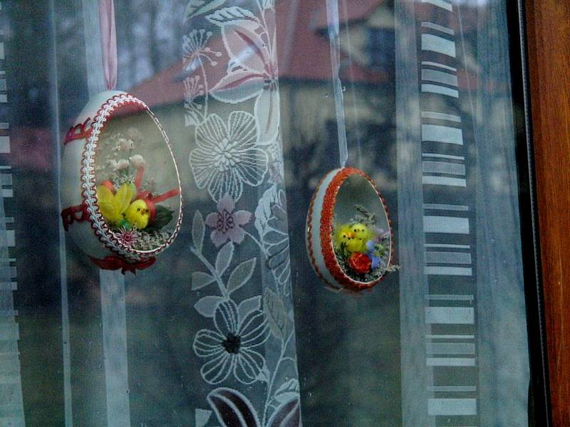 Milena Kaufnerová dokáže udělat ve skořápce umělecké dílo.