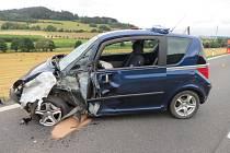Nehoda u Brnířova.