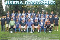 Jiskra Domažlice A - sezona 2013/2014.