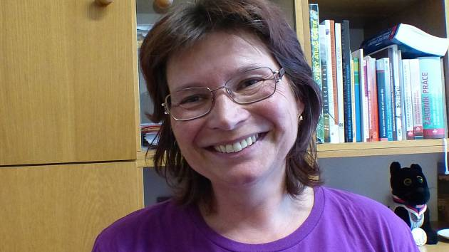 Mrákovská učitelka Simona Gieblová.
