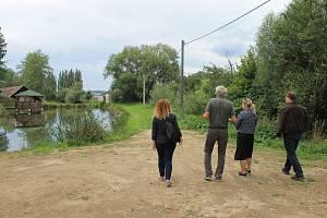 Prohlídka rybníků.