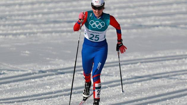 Lyžařka Beroušková dosáhla nejlepšího výsledku na OH v závěrečné třicítce klasickou technikou.