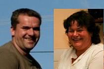 Nominovaní na Kozlův hasičský počin: Karel Treml a Hana Váchalová