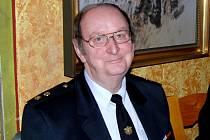Václav Prantl, starosta SDH Trhanov.