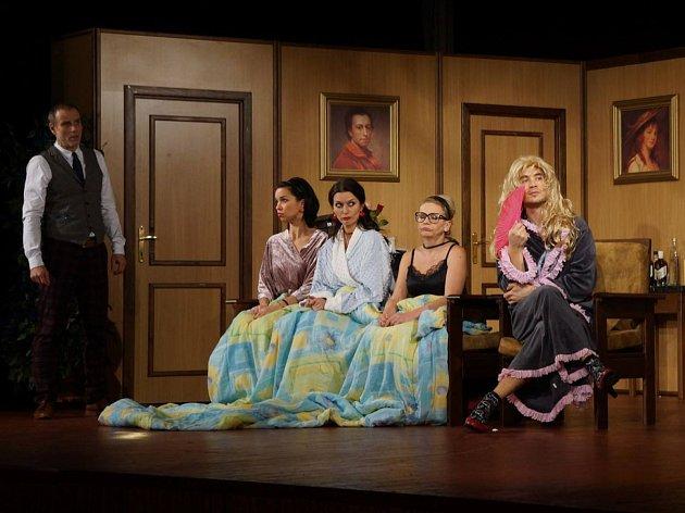 Divadlo Háta hrálo v Domažlicích