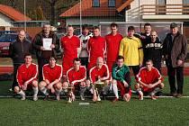Finále turnaje O pohár předsedy VV TJ Dynamo H. Týn. Dynamo A HT x Jiskra Domažlice B 2:1.