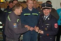 Společná akce hasičů z Horšovského Týna a Nabburgu.