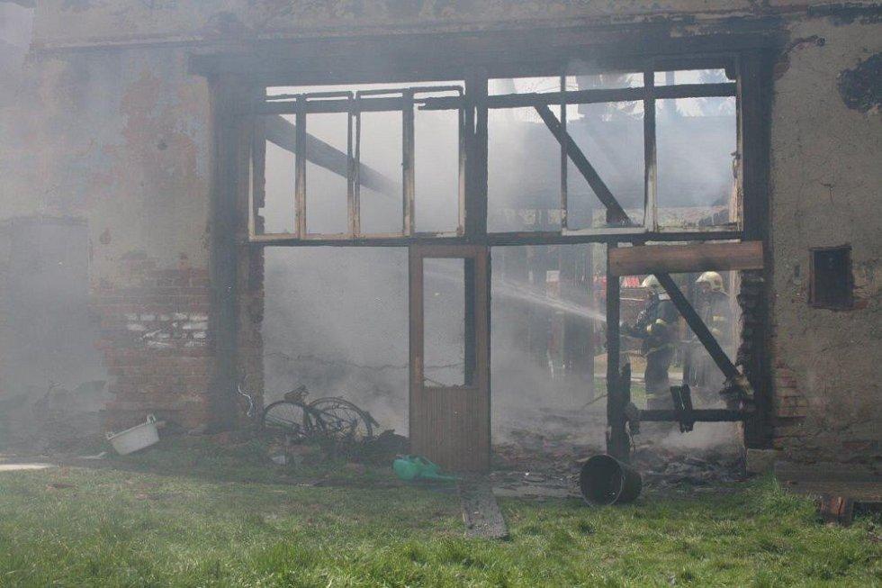 Požár v Šitboři.