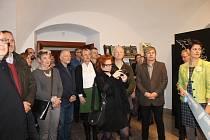 Slavnostní otevření nového informačního centra v Domažlicích.