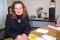 Jana Štenglová, ředitelka domažlického gymnázia.