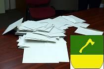 V těchto obálkách byly ve volební urně hlasy, jimiž občané rozhodli o nových zastupitelích Obce Babylon.