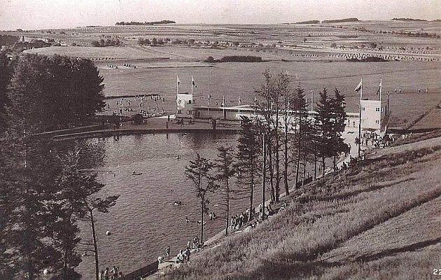 Takhle vypadalo Jezero vdobách minulých.