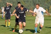 Koloveč vyhrál fotbalové derby, porazil Holýšov 2:0.
