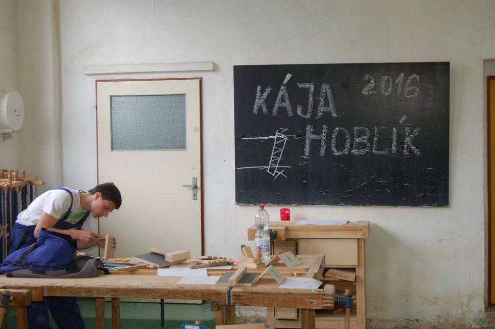 Ze soutěže O hoblík Káji Hoblíka v Domažlicích.