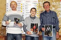 Z vyhlášení seriálu závodů Běžec Chodska 2012 v Klenčí pod Čerchovem.
