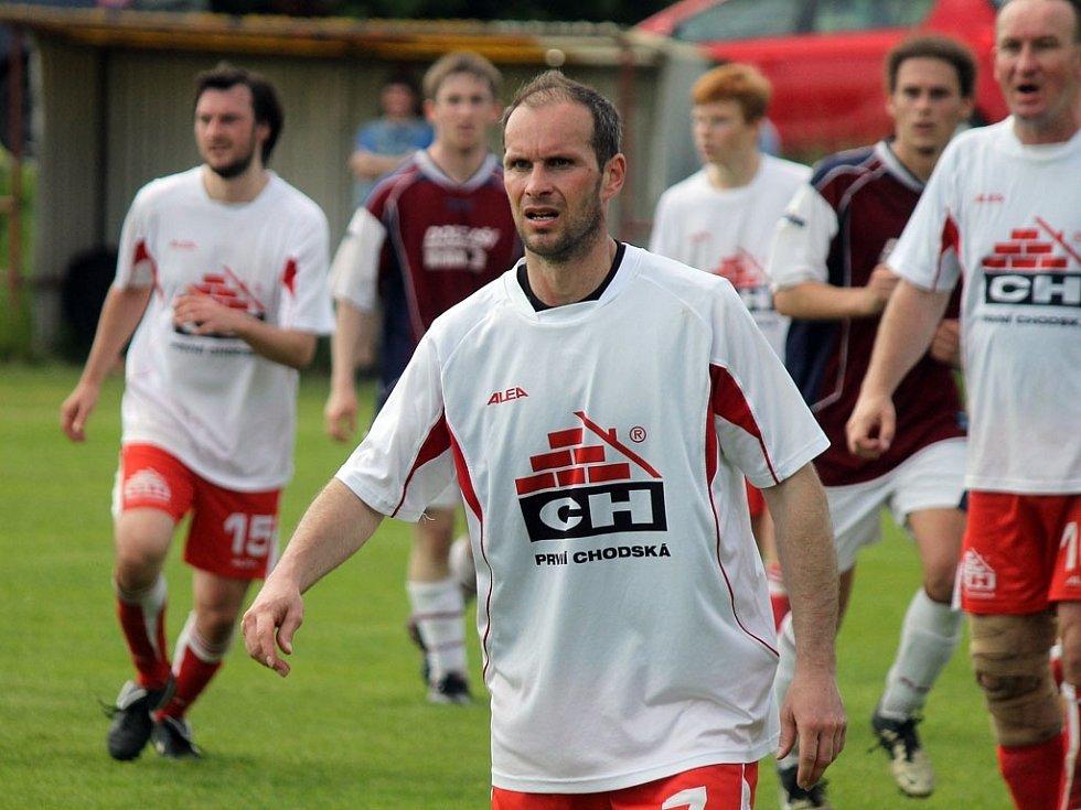 Horní Chodsko versus dolní Chodsko aneb fotbalisté Klenčí B se utkali se soupeři z Mrákova B.