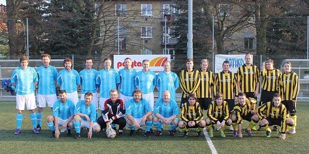 STARÁ GARDA DOMAŽLIC jako dalšího soka vymazala z fotbalové mapy okresu Újezd. Řada jejích hráčů si výkonem řekla o nominaci do kádru ´Benfiky´.