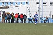 Z pohárového utkání Benfiky proti Tlumačovu.