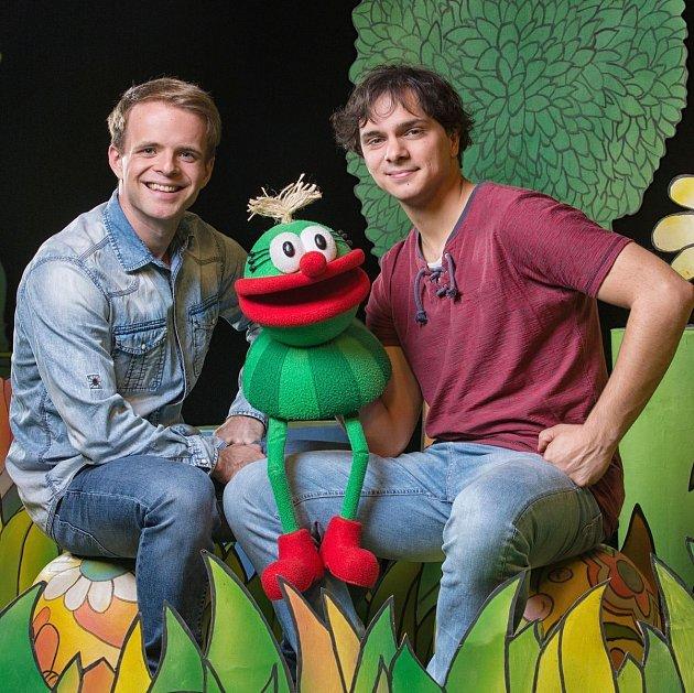 Tomáš Kůgel (vpravo) sFilipem Cílem.