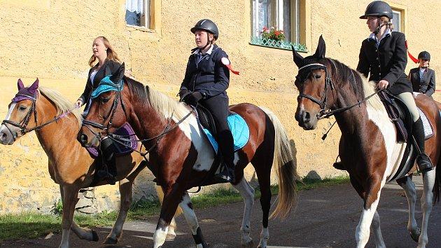 Svatováclavská jízda v Zahořanech