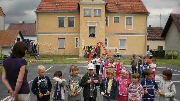 Mateřská škola Horšovský Týn v ulici Pionýrů.