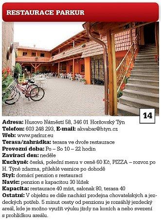Restaurace Parkur.