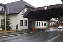 Bývalý hraniční opřechod ve Všerubech.