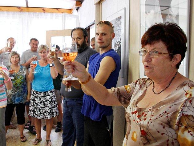 Den otevřených dveří v novém obecním úřadu v Nové Vsi.