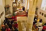 V loučimském kostele zazněly pašije.