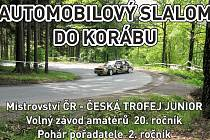 Mistrovství ČR v automobilovém slalomu - Kdyně (Koráb) v neděli 12. května.