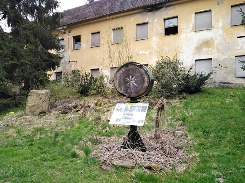 Bývalá rota pohraniční stráže na Bystřici.