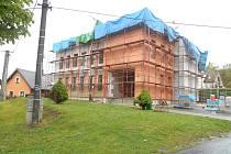 Budova Obecního úřadu v Pocinovicích.