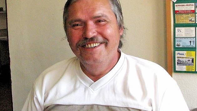 Iniciátor Holubečské 24 Josef Lukášek.