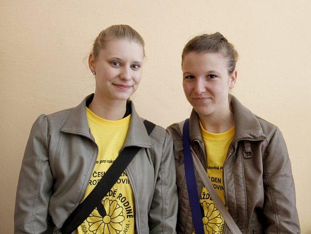 Žaneta Nejdlová (vlevo) a Jaroslava Havlovicová.