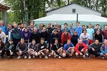 Tradiční pouťový turnaj v nohejbalu trojic v Horní Kamenici.