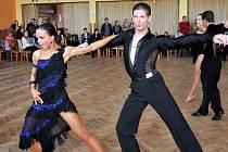 Vítězný pár kat. latina - Lenka Nádvorková a Lukáš Hojdan.