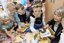 Den dětí v domažlické školce v Benešově ulici.