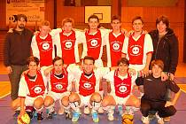 Futsalisté Ajaxu Staňkov po utkání s Bombery v prvním kole krajského přeboru.