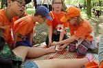 Oblastní kolo soutěže mladých záchranářů v Domažlicích