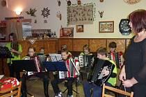 Vánoční koncert v Mezholezích u Kdyně.