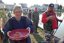 Rybářské závody v Milavčích.