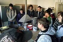 Exkurze horšovskotýnských žáků do Plzně.